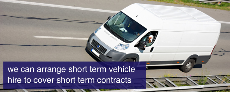 Short-to-Medium Vehicle Hire