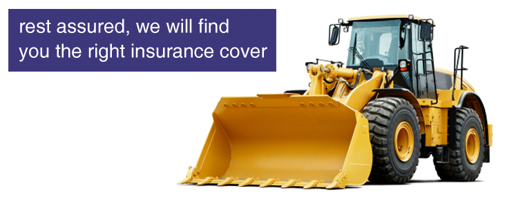 Construction Plant & Machinery insurance